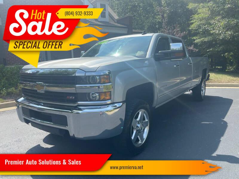 2015 Chevrolet Silverado 2500HD for sale at Premier Auto Solutions & Sales in Quinton VA
