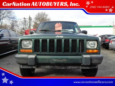1999 Jeep Cherokee for sale at CarNation AUTOBUYERS, Inc. in Rockville Centre NY