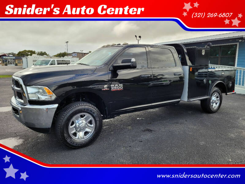 2017 RAM Ram Pickup 3500 for sale at Snider's Auto Center in Titusville FL