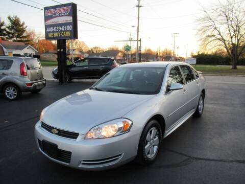 2009 Chevrolet Impala for sale at Lake County Auto Sales in Painesville OH