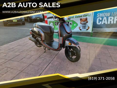2013 Honda Metropolitan for sale at A2B AUTO SALES in Chula Vista CA