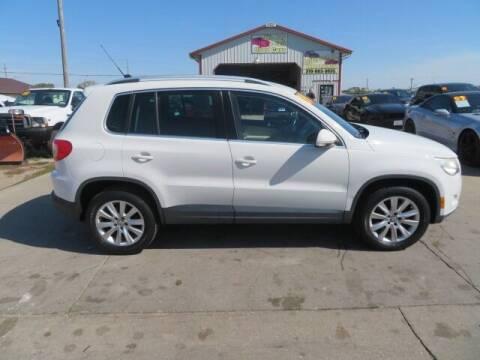 2009 Volkswagen Tiguan for sale at Jefferson St Motors in Waterloo IA