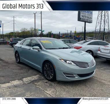 2014 Lincoln MKZ Hybrid for sale at Global Motors 313 in Detroit MI