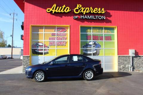 2014 Mitsubishi Lancer for sale at AUTO EXPRESS OF HAMILTON LLC in Hamilton OH