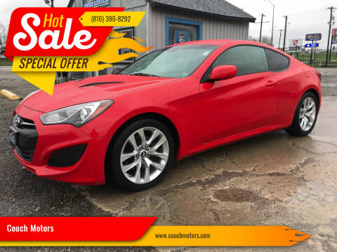 2013 Hyundai Genesis Coupe for sale at Couch Motors in Saint Joseph MO