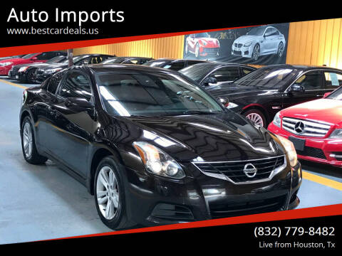 2013 Nissan Altima for sale at Auto Imports in Houston TX