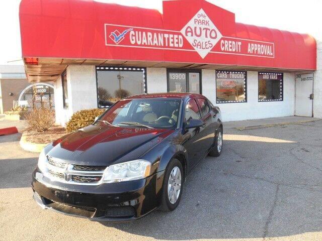2012 Dodge Avenger for sale at Oak Park Auto Sales in Oak Park MI