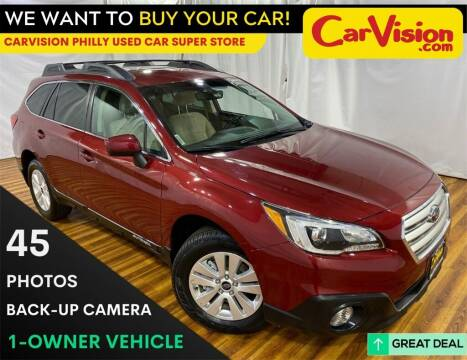 2017 Subaru Outback for sale at Car Vision Mitsubishi Norristown - Car Vision Philly Used Car SuperStore in Philadelphia PA