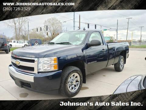 2008 Chevrolet Silverado 1500 for sale at Johnson's Auto Sales Inc. in Decatur IN