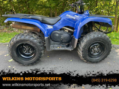2004 Yamaha Bruin 350 for sale at WILKINS MOTORSPORTS in Brewster NY