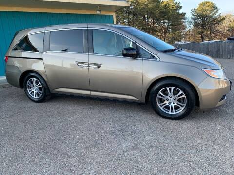 2012 Honda Odyssey for sale at Mutual Motors in Hyannis MA