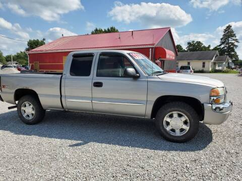 2004 GMC Sierra 1500 for sale at MIKE'S CYCLE & AUTO in Connersville IN