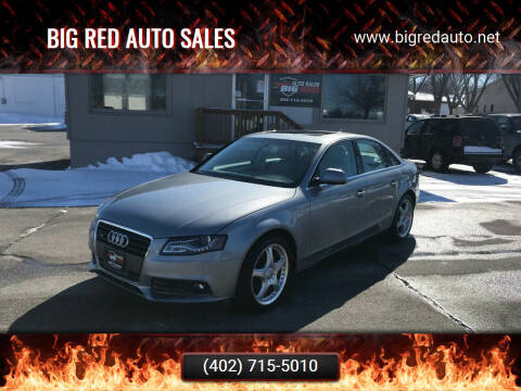 2009 Audi A4 for sale at Big Red Auto Sales in Papillion NE