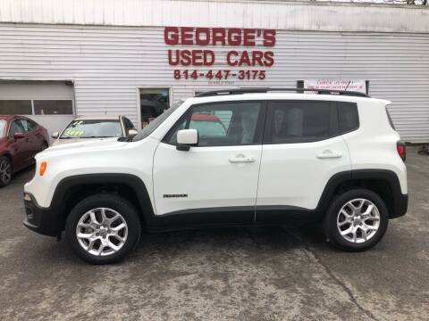 2015 Jeep Renegade for sale at George's Used Cars Inc in Orbisonia PA