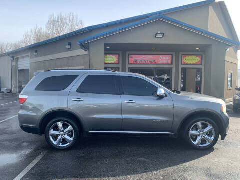 2012 Dodge Durango for sale at Advantage Auto Sales in Garden City ID