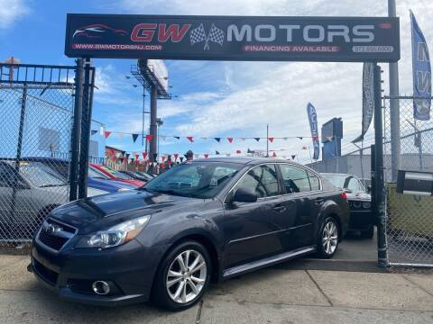 2013 Subaru Legacy for sale at GW MOTORS in Newark NJ