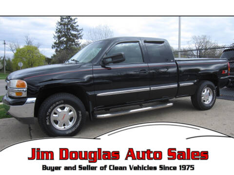 1999 GMC Sierra 1500 for sale at Jim Douglas Auto Sales in Pontiac MI