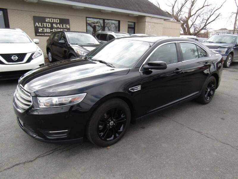 2016 Ford Taurus for sale at 2010 Auto Sales in Troy NY