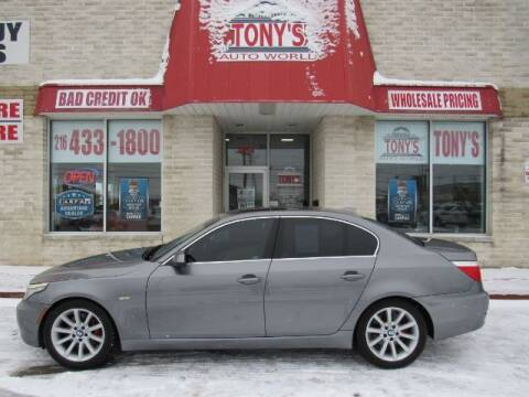 2010 BMW 5 Series for sale at Tony's Auto World in Cleveland OH