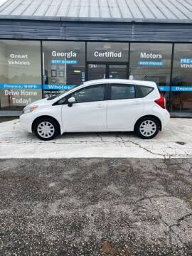 2015 Nissan Versa Note for sale at Georgia Certified Motors in Stockbridge GA