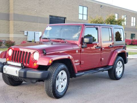 2012 Jeep Wrangler Unlimited for sale at FRESH TREAD AUTO LLC in Springville UT