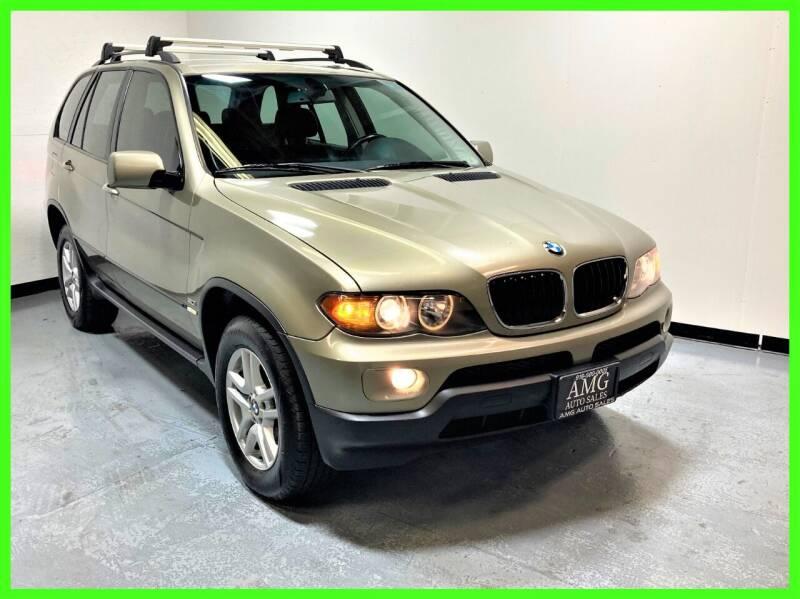 2004 BMW X5 for sale at AMG Auto Sales in Rancho Cordova CA