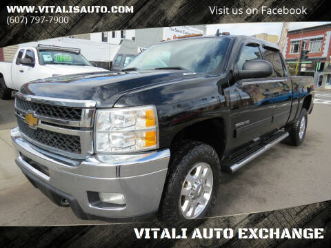 2012 Chevrolet Silverado 2500HD for sale at VITALI AUTO EXCHANGE in Johnson City NY
