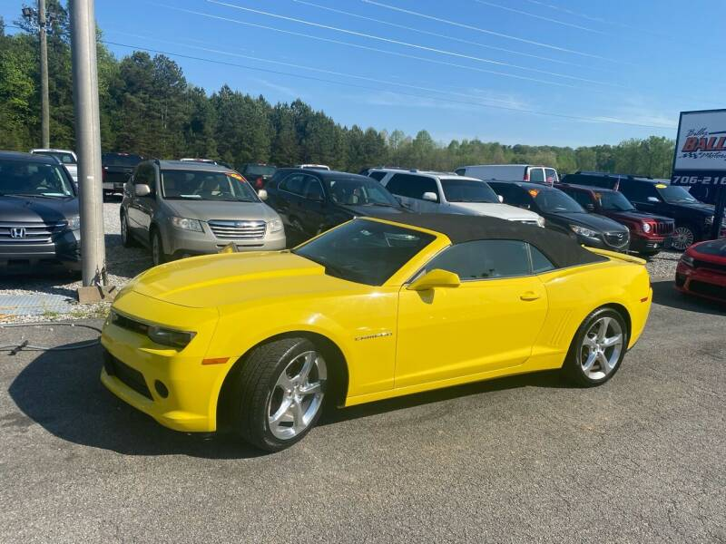 2015 Chevrolet Camaro for sale at Billy Ballew Motorsports in Dawsonville GA