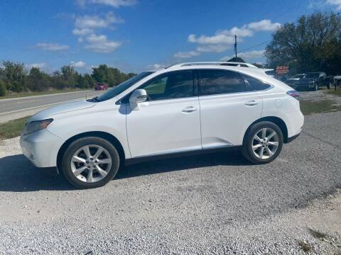 2011 Lexus RX 350 for sale at C4 AUTO GROUP in Claremore OK