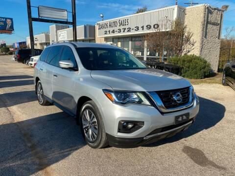 2018 Nissan Pathfinder for sale at LLANOS AUTO SALES LLC in Dallas TX