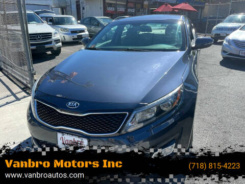 2015 Kia Optima for sale at Vanbro Motors Inc in Staten Island NY