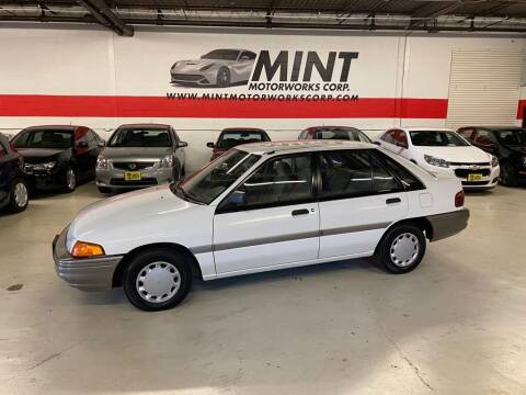 1991 Ford Escort for sale at MINT MOTORWORKS in Addison IL