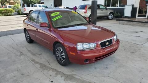 2003 Hyundai Elantra for sale at HCC AUTO SALES INC in Sarasota FL