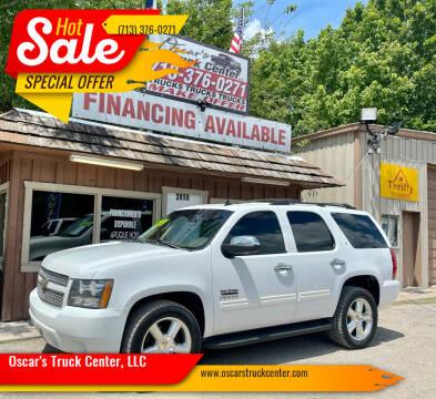 2011 Chevrolet Tahoe for sale at Oscar's Truck Center, LLC in Houston TX