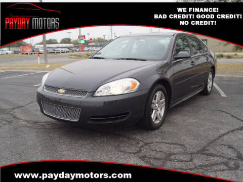 2014 Chevrolet Impala Limited for sale at Payday Motors in Wichita And Topeka KS