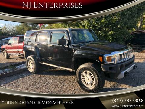2009 HUMMER H3 for sale at NJ Enterprises in Indianapolis IN