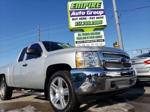2013 Chevrolet Silverado 1500 for sale at Empire Auto Group in Indianapolis IN