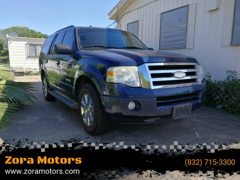 2008 Ford Expedition for sale at Zora Motors in Houston TX