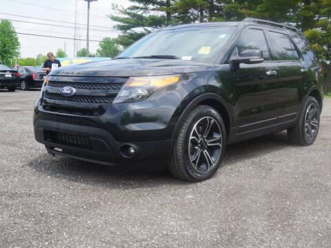 2013 Ford Explorer for sale at Suburban Chevrolet of Ann Arbor in Ann Arbor MI