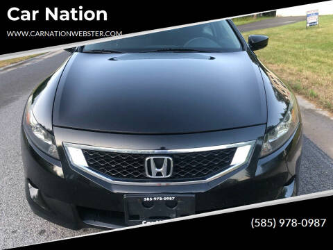 2009 Honda Accord for sale at Car Nation in Webster NY