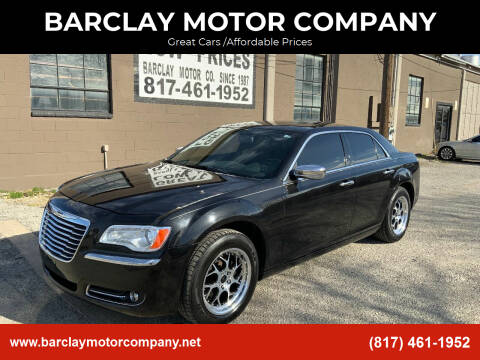 2011 Chrysler 300 for sale at BARCLAY MOTOR COMPANY in Arlington TX