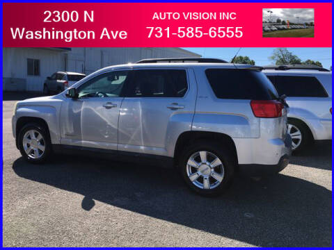 2011 GMC Terrain for sale at Auto Vision Inc. in Brownsville TN