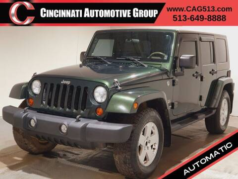 2010 Jeep Wrangler Unlimited for sale at Cincinnati Automotive Group in Lebanon OH