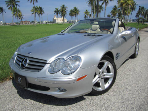 2005 Mercedes-Benz SL-Class for sale at FLORIDACARSTOGO in West Palm Beach FL
