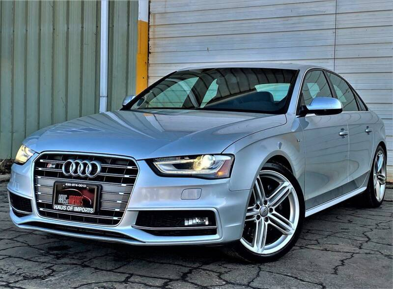 2013 Audi S4 for sale at Haus of Imports in Lemont IL
