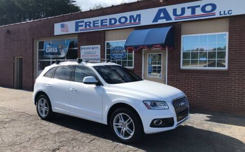 2016 Audi Q5 for sale at FREEDOM AUTO LLC in Wilkesboro NC