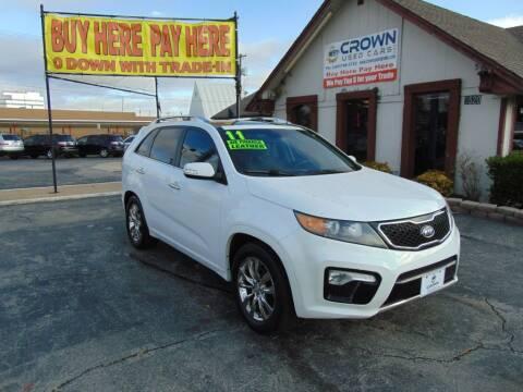 2011 Kia Sorento for sale at Crown Used Cars in Oklahoma City OK