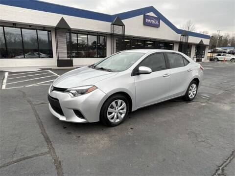 2014 Toyota Corolla for sale at Impex Auto Sales in Greensboro NC