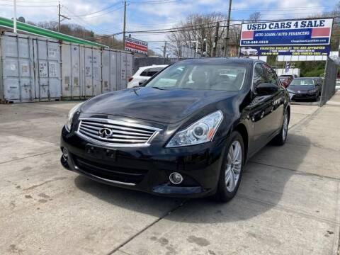 2015 Infiniti Q40 for sale at US Auto Network in Staten Island NY