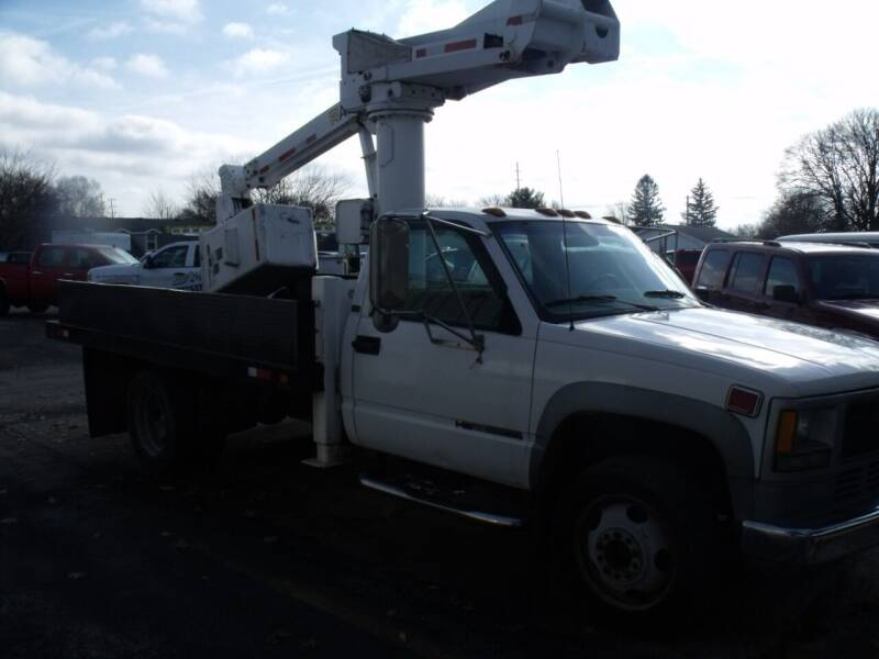 1995 GMC Sierra 3500 for sale at Dendinger Bros Auto Sales & Service in Bellevue OH